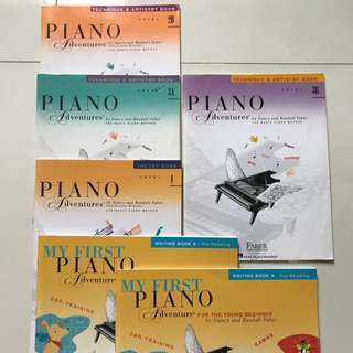 Faber Piano Adventure music books