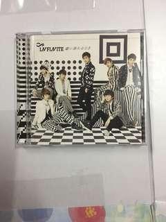 [WTS] INFINITE KOI NI OCHIRU TOKI JAPANESE ALBUM WITH SUNGGYU PC