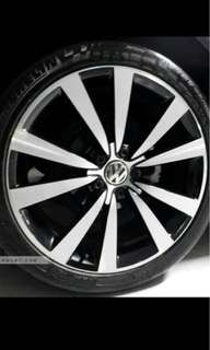 Vw 19inches rim