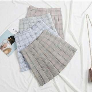 Pastel Pleated Tennis Skirt