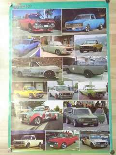 Poster Datsun 620 Pick Up
