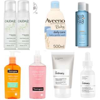 Pre-Orders for various cleansing product