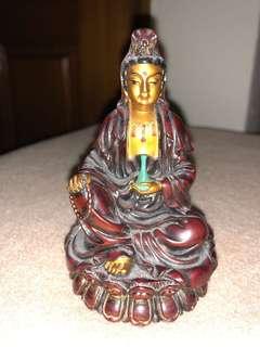 Mini Kuan Yin Statue