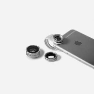 Momax手機鏡頭補丁3 IN 1 X-Lens (任何手機適用)
