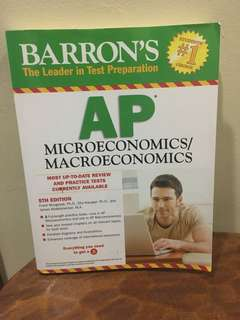 AP Macroeconomics and Microeconomics Barron's Textbook