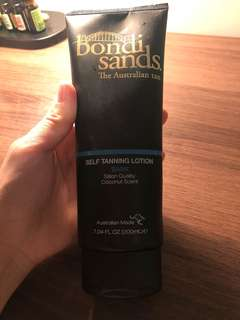 Bondi sands tanning lotion