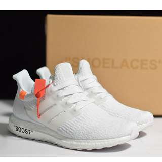 Off-White x Adidas Ultra Boost 3.0 UB3.​0OW聯名 真爆米花 BA8841 男女尺碼:36-45