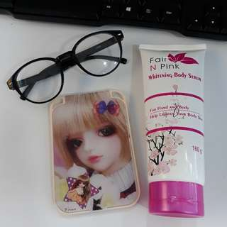 FairNpink whitening body serum