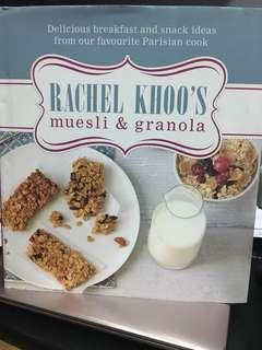 Rachel Khoo's muesli & granola cookbook