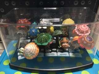 One Piece Umbrella series figurines