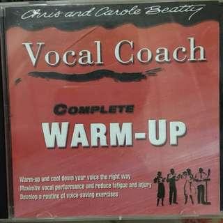 Vocal coach cd