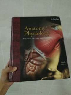 Medical book - Saladin anatomy and physiology