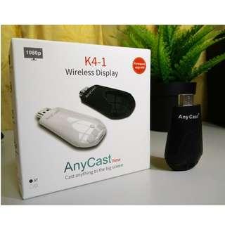Anycast K4-1 & Miracast Wireless Display