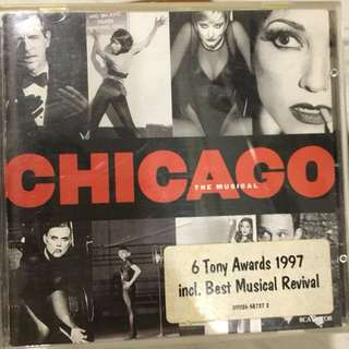 Chicago the musical cd