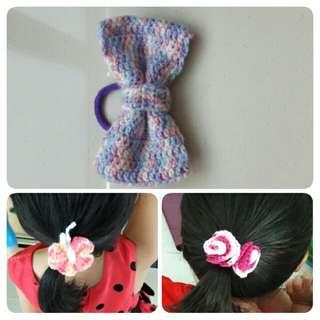 Handmade Crochet Hair Accessories