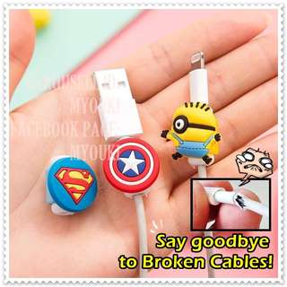 FREE MAILING Cute Cable Protector / Cord Protector