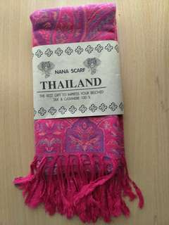 Beautiful Pink Nana Scraf