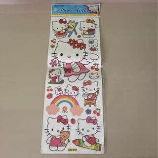 Hello Kitty Magic Sticker - Glass or Tiles