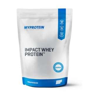MY PROTEIN®️ IMPACT 乳清蛋白粉 英國首屈一指的優質蛋白粉