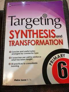 P6 Targeting Synthesis and Transformation