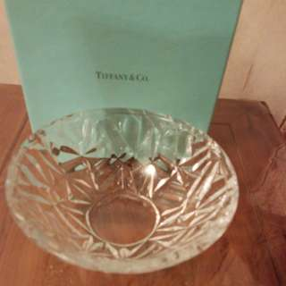 Tiffany & Co Crystal bowl , Tiffany & Co 水晶碗