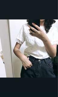 🚚 反摺牛仔短褲