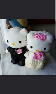 Wedding Car Deco Dolls (Hello Kitty)