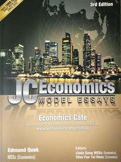 A Level Econs Essay Book