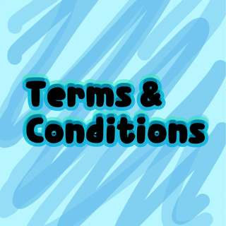 Terms & Conditions Please Read!!!