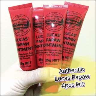 Authentic Lucas papaw
