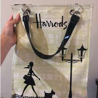 Harrods Bag | Woman and Dog