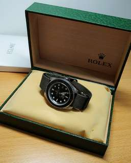Rolex Submariner Project X Stealth MKIII (replica 1:1) military/army (jam army)