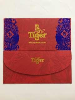 Tiger Beer Red Packet Ang Pow Hong Bao