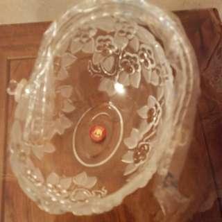Carmen Crystal basket, 水晶籃