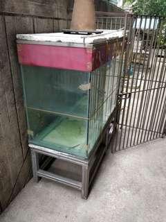 Antique Aquarium with Stand