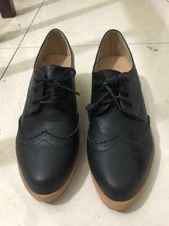 🚚 氣質粗跟牛津鞋 高跟鞋