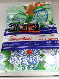 Bed Sheet Single Cotton