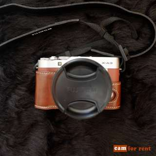 Fujifilm X-A3 FOR RENT @ 700/Day!
