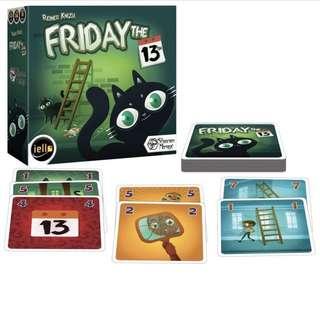 Friday the 13th Card Game