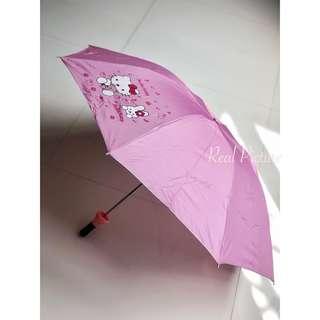 Payung Lipat Hello Kitty