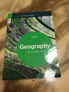 Geography Textbook ( For IB diploma students )