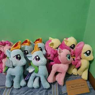 Brand new no tags My Little Pony stuff toys