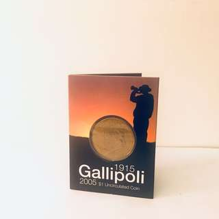 2005 AUS Gallipoli $1 Uncirculated Coin - C Mint Mark