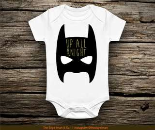 Customised baby romper (Super hero series)