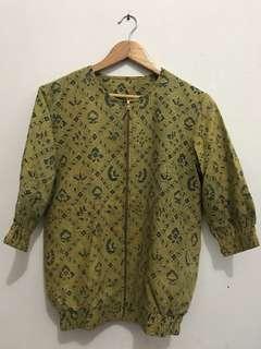 Jaket Batik Gaul