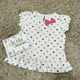 MIKI BABY T SHIRT DRESS
