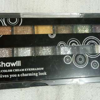 Shawill 12 Color Cream Eyeshadow