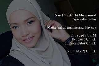 Specialist tutor