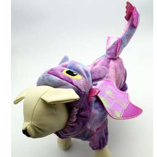 寵物衣(四腳)-恐龍,馴龍高手沒牙-紫色