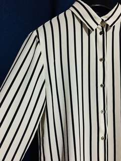 H&M Striped Long-sleeves